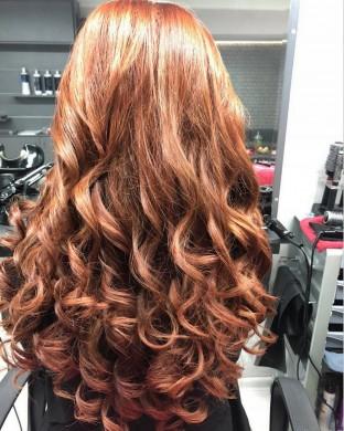 Сешоар на четки - Дълга коса