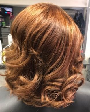 Сешоар на четки - Къса коса