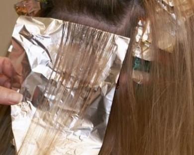 Кичури с фолио на Дълга коса